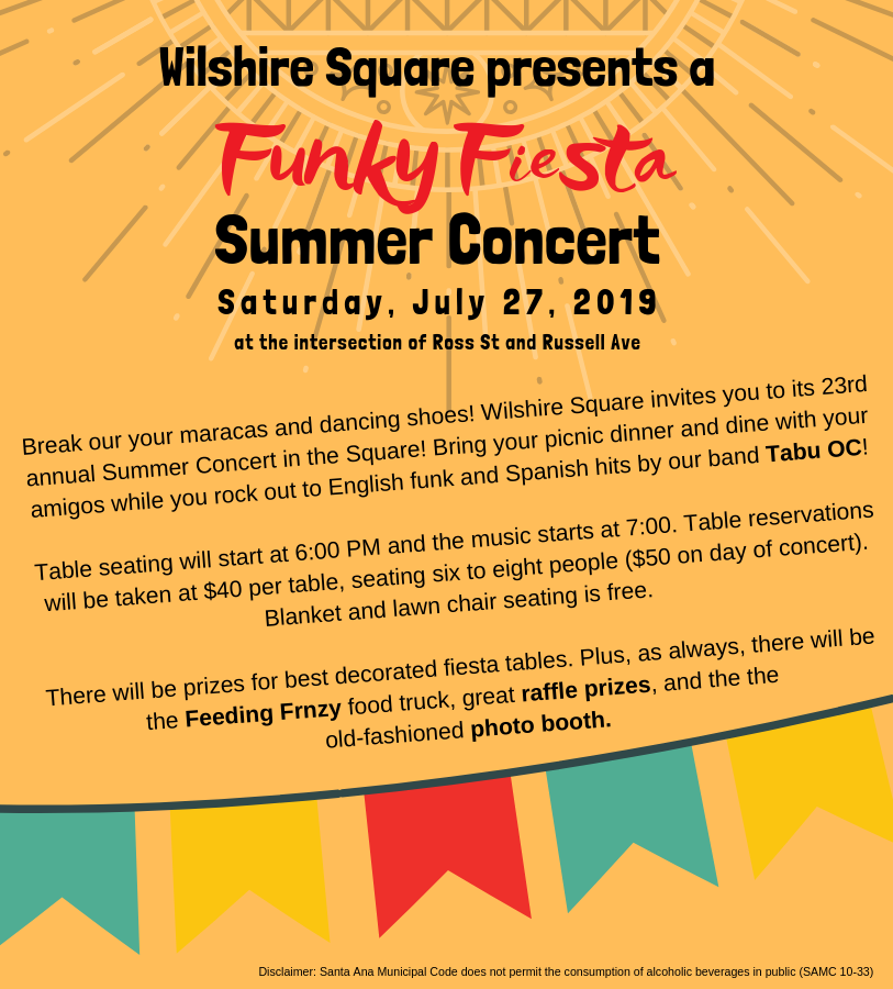 Website - funky fiesta Summer Concert