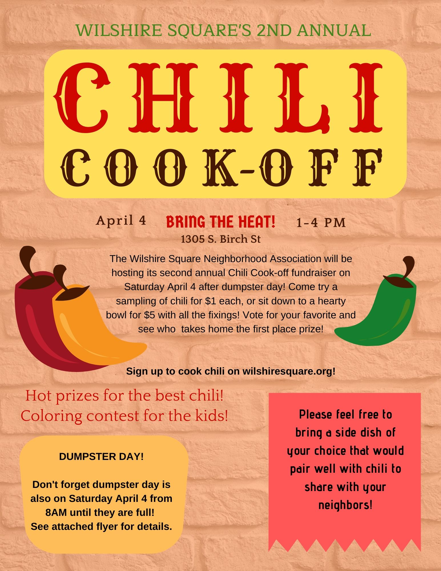 2020 Chili Cookoff English